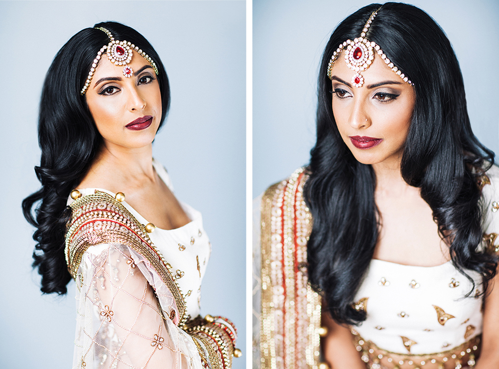 priya charlotte indian bridal portraits